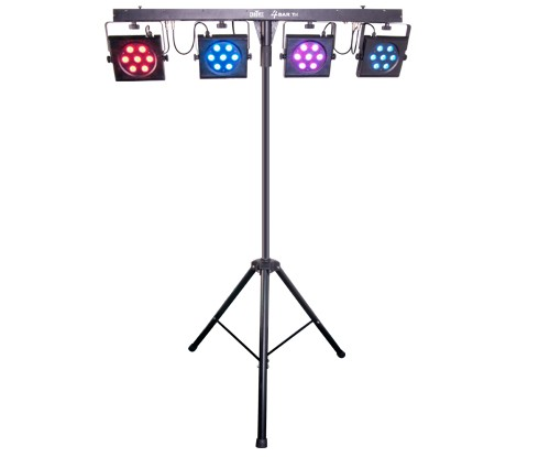 chauvet dj 4bar tri led par system