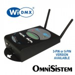 Omnisistem Wireless DMX Transceiver WiDMX 3-pin