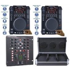 American Audio 10MXR 3000 System DJ Package