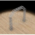 Global Truss SQ-10x10 ARCH SYSTEM F34