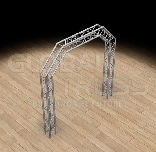 global truss sq 10x10 arch system f34. Black Bedroom Furniture Sets. Home Design Ideas