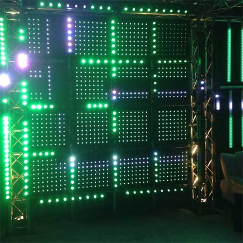 Led Wall Dj Light: ADJ Flash Kling Panel 64 LED Wall Panel