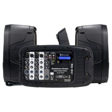 American Audio ELS PA10 Mobile DJ Sound System Package