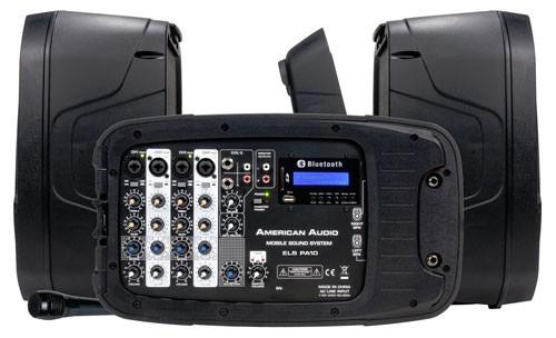 american audio els pa10 mobile dj sound system package. Black Bedroom Furniture Sets. Home Design Ideas