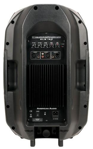 american audio els15a powered dj speaker. Black Bedroom Furniture Sets. Home Design Ideas