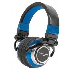 American Audio ETR1000B Blue Professional DJ Headphones