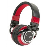 American Audio ETR1000R Red Professional DJ Headphones