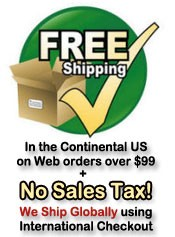 Free Shipping No Tax USA