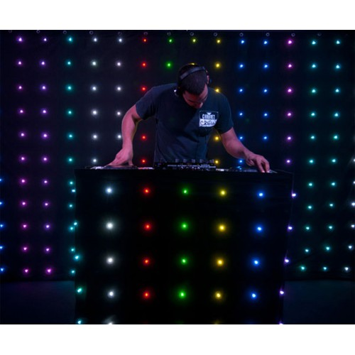 Chauvet Dj Motionset Led Dj Facade Curtain Or Backdrop