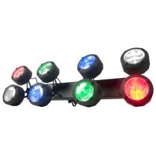 ADJ Octo Beam RGBW LED Disco Lighting Effect