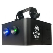 ADJ Royal 3D II Green and Blue Club Laser