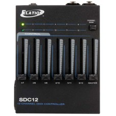 SDC12 12 Channel 19Inch Rack Mount DMX Controller