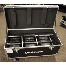 Omnisistem Thin Par Passport Wireless LED System 6-Pack with Case