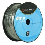 Accu Cable AC3CDMX300 - 300ft Spool - 3 Pin DMX Data Cable