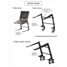 DJ Laptop Stand for Serato or Final Scratch
