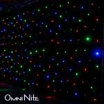 Omni Nite Large LED Curtain Backdrop (MultiColor LED)