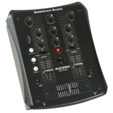 American Audio QD1 PRO DJ Mixer with USB