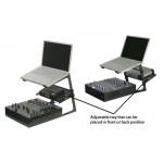 DJ Laptop Stand with Tray Combo