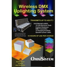 Omnisistem Wireless LED Uplighting System